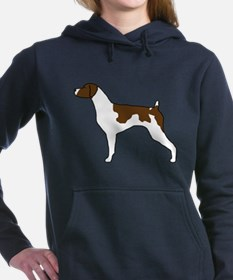 Liver Brittany Women's Hooded Sweatshirt