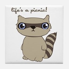 Life's A Picnic! Tile Coaster