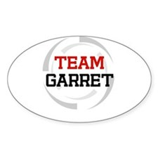 Garret Oval Decal