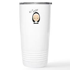 #1 Sister Travel Mug