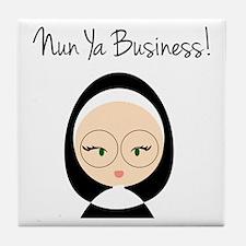 Nun Ya Business Tile Coaster