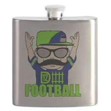 Defense 12 man Flask