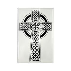 Celtic Knotwork Cross Rectangle Magnet