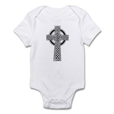 Celtic Knotwork Cross Infant Bodysuit