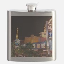 Las Vegas Strip Flask