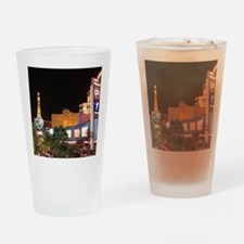 Las Vegas Strip Drinking Glass