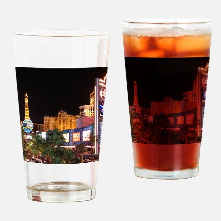 Las Vegas Strip Drinking Glass