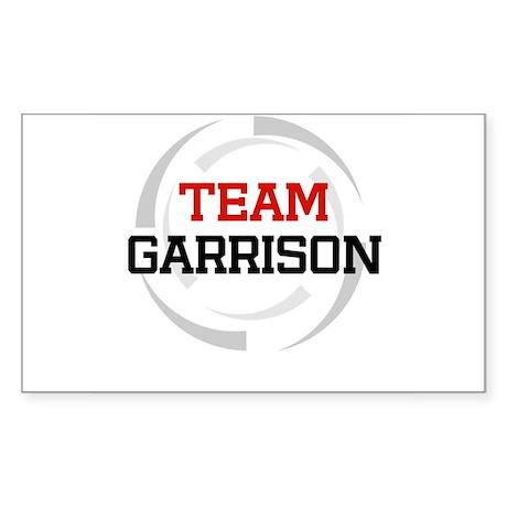 Garrison Rectangle Sticker