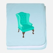 Wingback Chair baby blanket