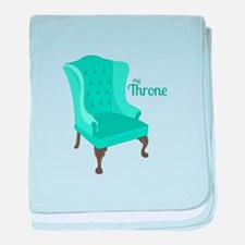 My Throne baby blanket