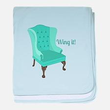 Wing It baby blanket