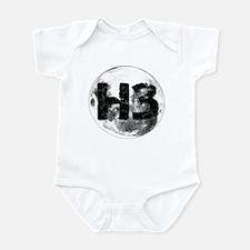 H3 On The Moon Infant Bodysuit