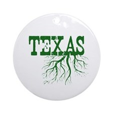 Texas Roots Ornament (Round)