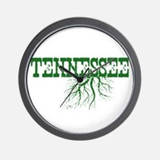Tennessee Roots Wall Clock