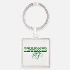 Tennessee Roots Square Keychain