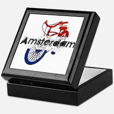 Amsterdam Bicycle Keepsake Box