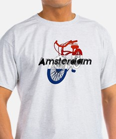 Amsterdam Bicycle T-Shirt