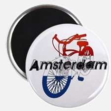 Amsterdam Bicycle Magnet