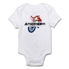 Amsterdam Bicycle Infant Bodysuit