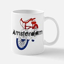 Amsterdam Bicycle Mug