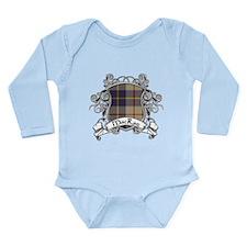 MacRae Tartan Shield Long Sleeve Infant Bodysuit