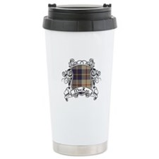 MacRae Tartan Shield Travel Mug