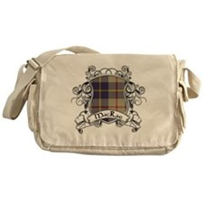 MacRae Tartan Shield Messenger Bag