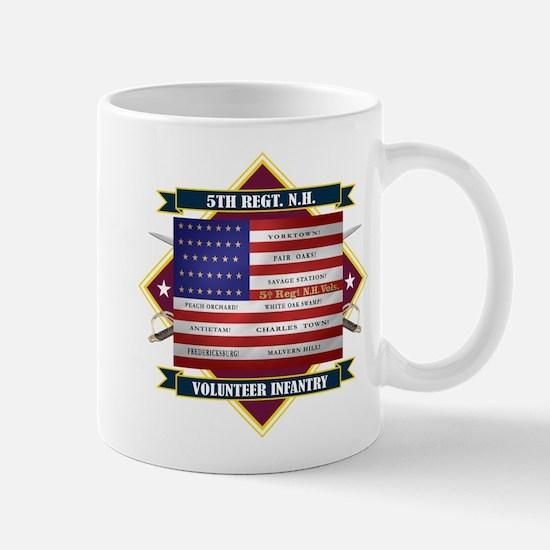5th New Hampshire Volunteer Infantry Mugs