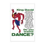 Do You Wanna Dance? Mini Poster Print