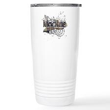 MacRae Tartan Grunge Travel Mug