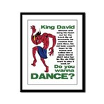 Do You Wanna Dance? Framed Panel Print