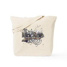 MacRae Tartan Grunge Tote Bag