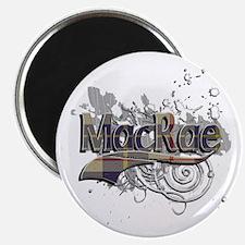 MacRae Tartan Grunge Magnet