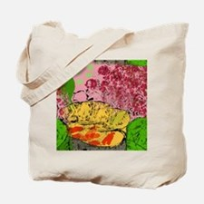 Plants and Fish Bowl Tote Bag