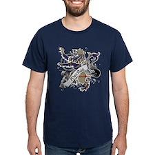 MacRae Tartan Lion T-Shirt