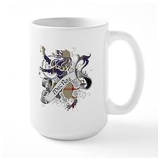 MacRae Tartan Lion Mug