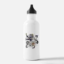 MacRae Tartan Lion Water Bottle