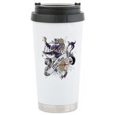 MacRae Tartan Lion Travel Coffee Mug