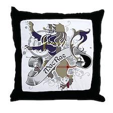 MacRae Tartan Lion Throw Pillow