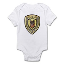 Police Canine Unit Infant Bodysuit