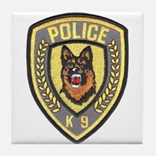Police Canine Unit Tile Coaster