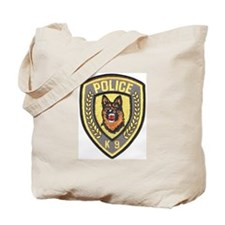 Police Canine Unit Tote Bag