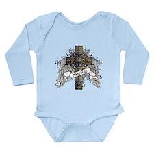 MacRae Tartan Cross Long Sleeve Infant Bodysuit