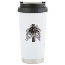 MacRae Tartan Cross Travel Mug