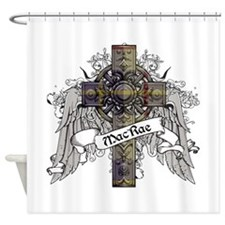 MacRae Tartan Cross Shower Curtain