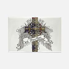 MacRae Tartan Cross Rectangle Magnet