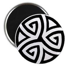 "Celtic Trinity Design Circle 2.25"" Magnet (10 pack"
