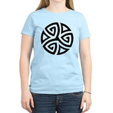 Celtic Trinity Design Circle T-Shirt