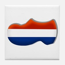 Dutch Clogs Tile Coaster