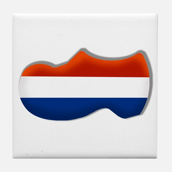 Dutch Clogs Tile Coaster